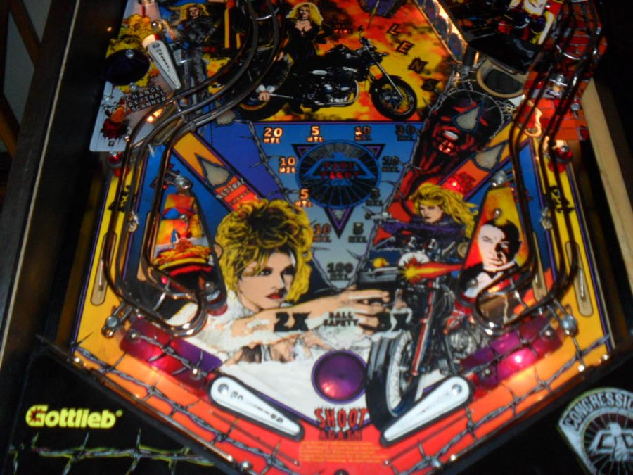 barb wire pinball machine by gottlieb special orders the coin drops here